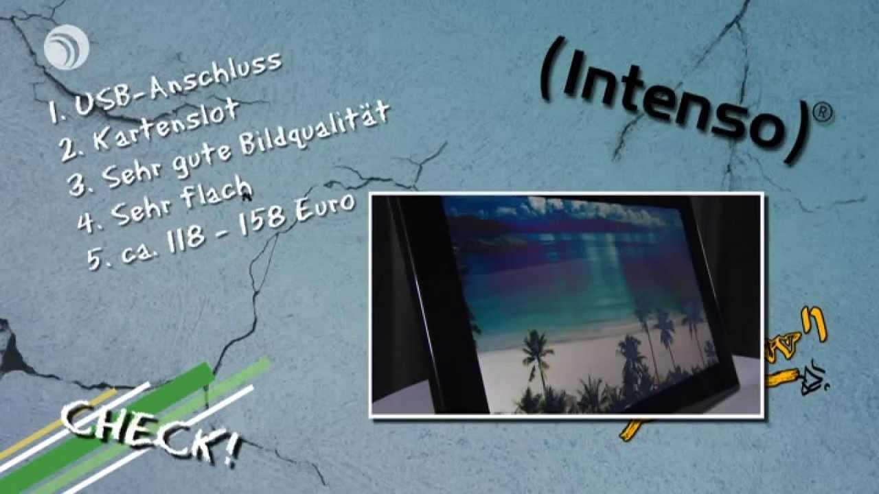 CHECK! Digitale Bilderrahmen: Intenso 15,6\