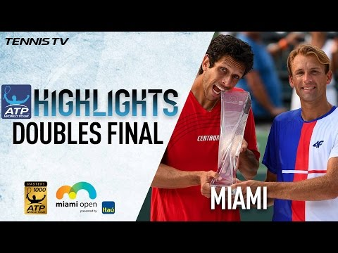 Highlights: Kubot/Melo Win Miami Open Doubles Title