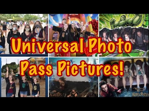 Universal Photo Pass Pictures