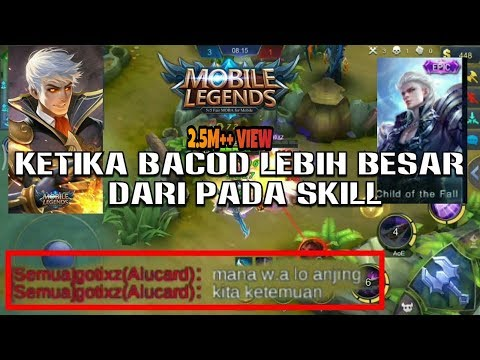 Battle Ama Bocah Yang Suka Bacod • Kalah Ngajak Berantem | Mobile Legend