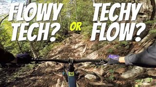 Is This Flowy Tech or Techy Flow? // Angry Midget and Cakewalk in Squamish B.C