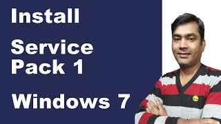 How to install service pack 1 | Download service pack 1 for windows 7 (Hindi)