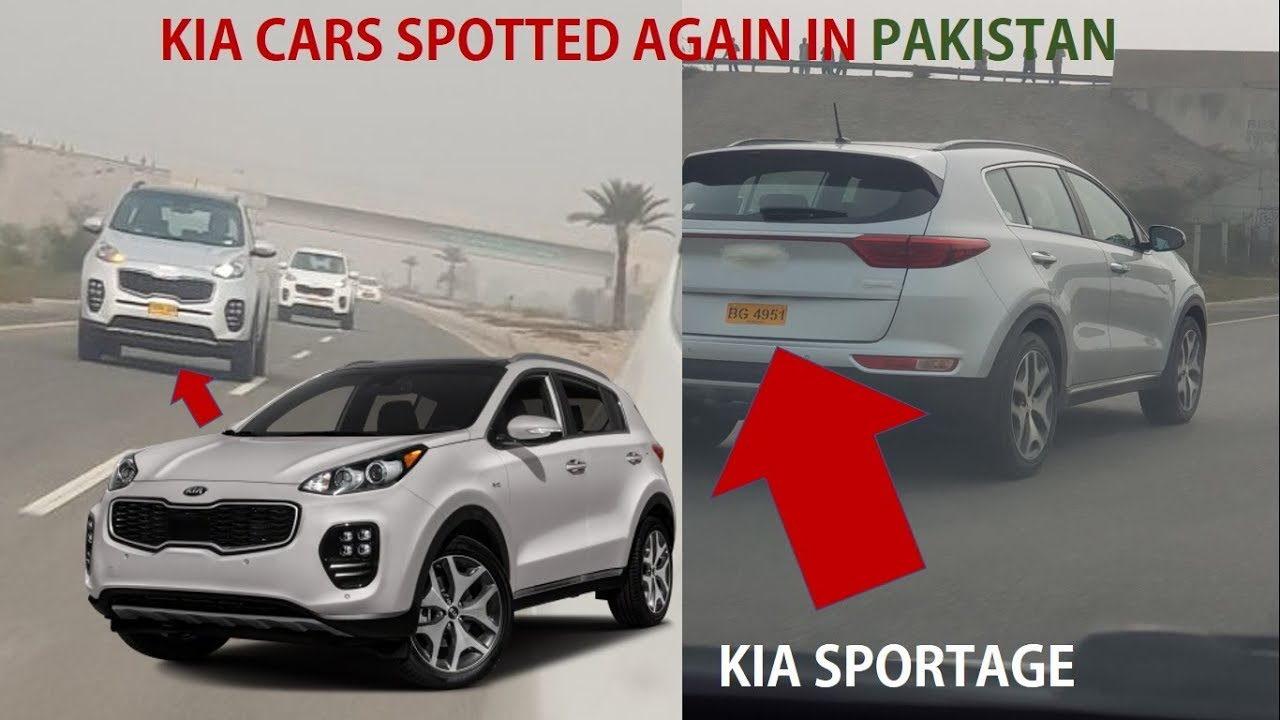Kia Cars Spotted Once Again In Pakistan Coming Very Soon In