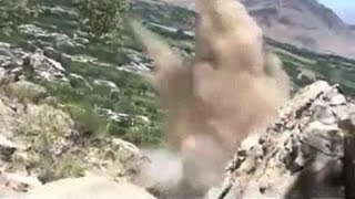 Rock Saves Soldier From Hail of Bullets