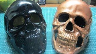 как сделать маску призрачного гонщика