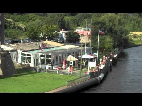 Transit via the Kiel Canal
