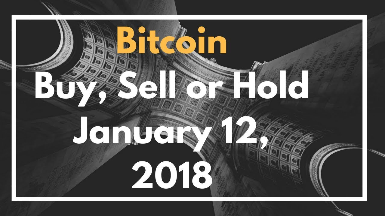 sell bitcoin or hold