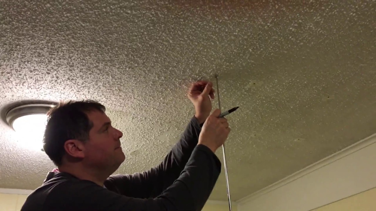 How To Locate Ceiling Joists The Easy Way