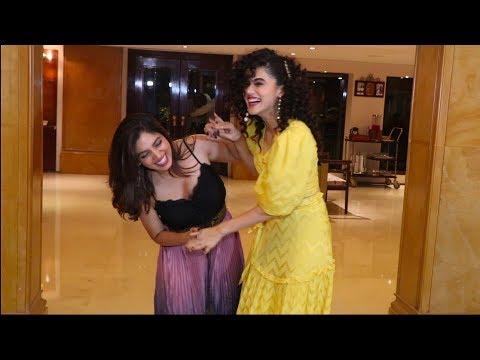 Bhumi pednekar and Taapsee pannu promoting There Upcoming Movie Saand Ki Aankh Mp3