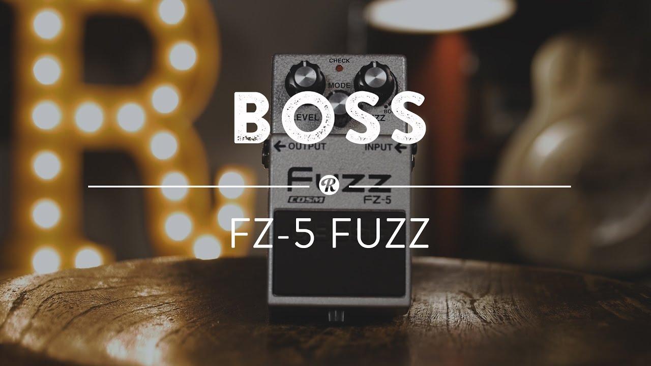 boss fz 5 fuzz reverb demo video youtube. Black Bedroom Furniture Sets. Home Design Ideas