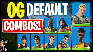 *NEW* OG Defaults! Edit Style Combos | Before You Buy (Fortnite Battle Royale)