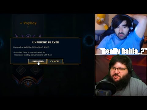Voyboy Unfriends Nightblue3 After this | Tyler1 on Why Females Play Girl Champions | LoL Moments