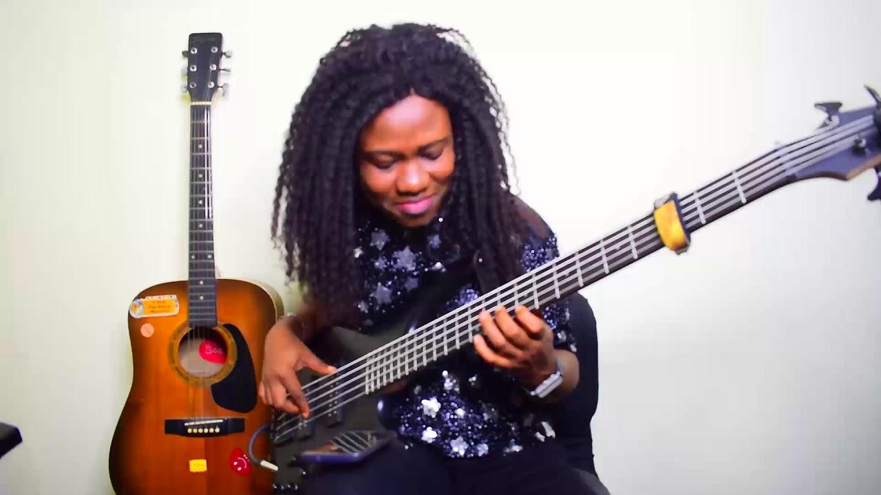 Download Nigeria Makossa Praise  Medley  By Gbenga Afolayan  Bass cover #bassline #praise #groove #naija