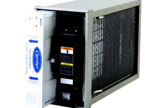Carrier Infinity Air Purifier Healthy Air Youtube