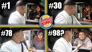 Driving Through The SAME Burger King Drive Thru Until They REFUSE To Serve Me (100+ Times)