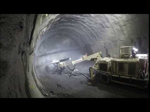 East Link Extension: Bellevue Tunnel Mining Time-Lapse