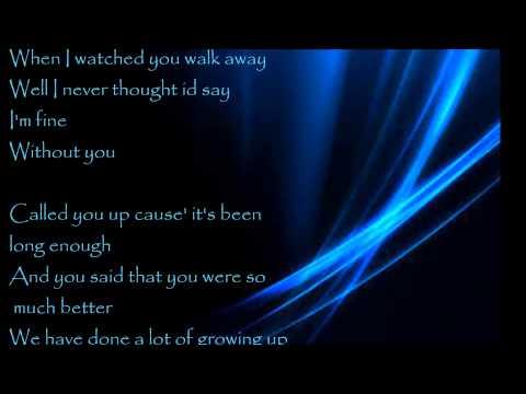 Hinder Without You Lyrics