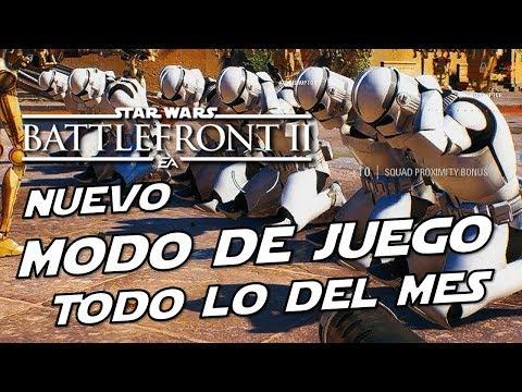 Star Wars Battlefront 2 Nuevas Noticias del Nuevo Modo de juego, Refuerzos, Comunicación y Sorpresas thumbnail