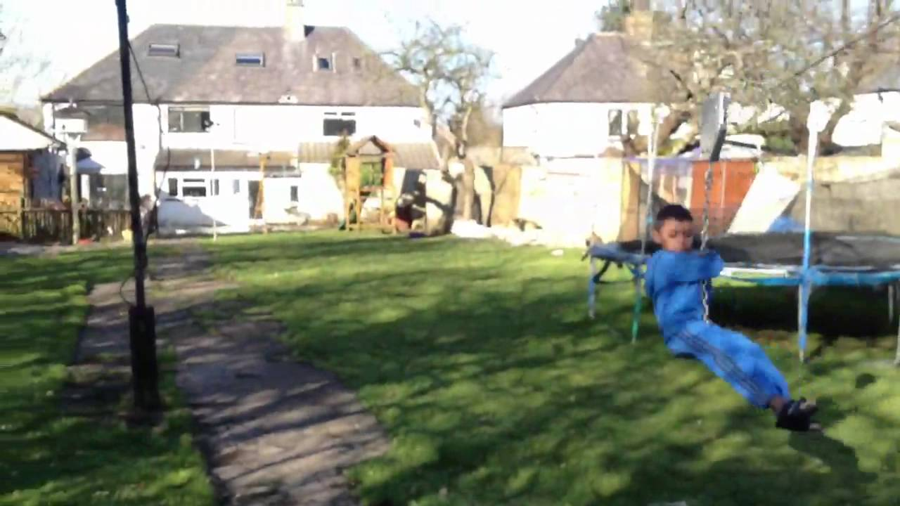 longest zip line in garden youtube