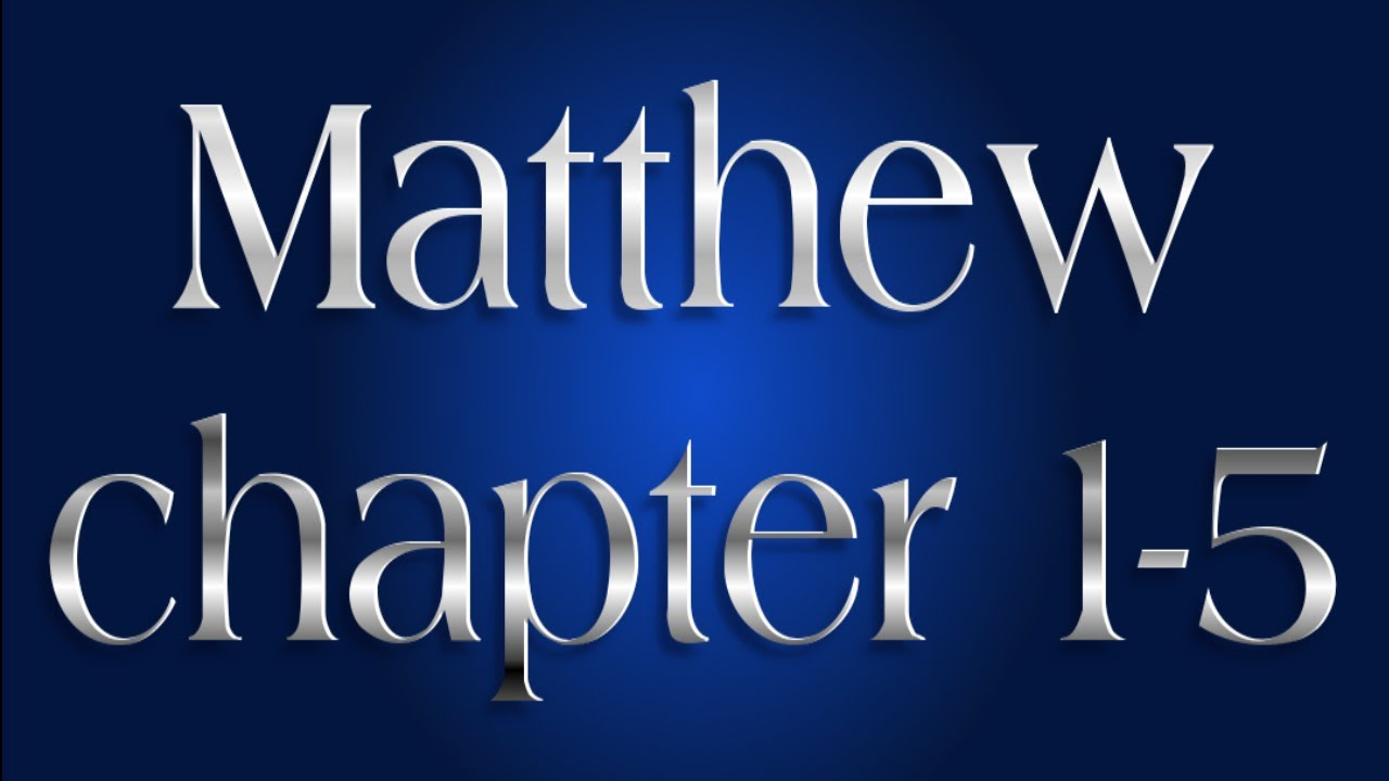 Hindi audio Bible - Matthew Chapter 1-5