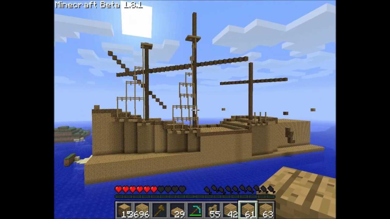 The Flying Dutchman Of Minecraft Sneak Peek Youtube