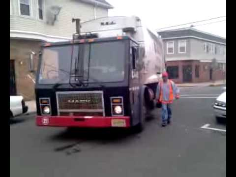 Garbage company dumping waste in the streets,nj