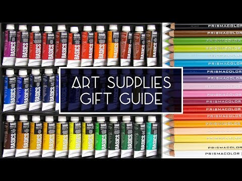 The Ultimate Art Supplies Gift Guide