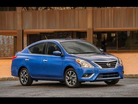 Nissan Versa Sedan 2015 Review - YouTube