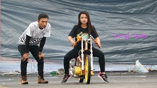 Joki Cewek Pipi Tembem Latihan Bebek 2 tak 116cc TU Setting di Paddock Drag Bike