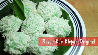 Resep Kue Klepon Original - Step By Step | Dapur Sekilas Info