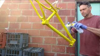 How to - Paint a bmx bike