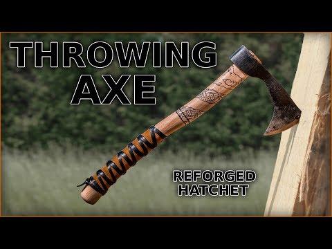 Vikings Inspired Throwing Axe