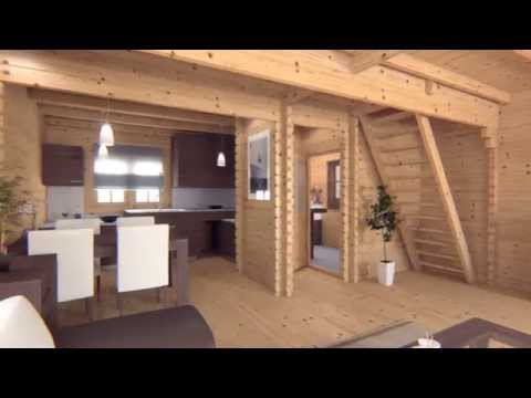 Residential log cabin test video | Quick Garden®