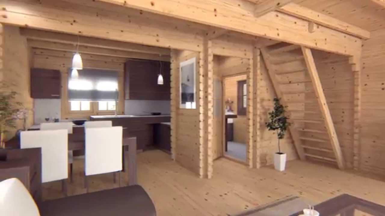 Residential Log Cabin Test Video Quick Garden Youtube