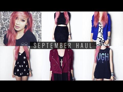 September Haul | Drop Dead, ASOS, Motel Rocks, Missguided etc.