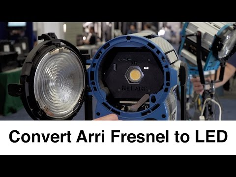 Convert Your Fresnel to LED with VisionSmith ReLamp: NAB 2016