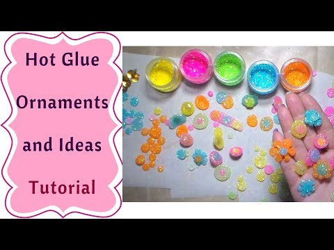 Hot Glue As Ornaments and Embellishments : Tutorial
