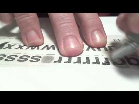 How To Use Dry Transfer Lettering
