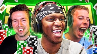 SIDEMEN $5,000 POKER NIGHT (with Lux & Freezy)