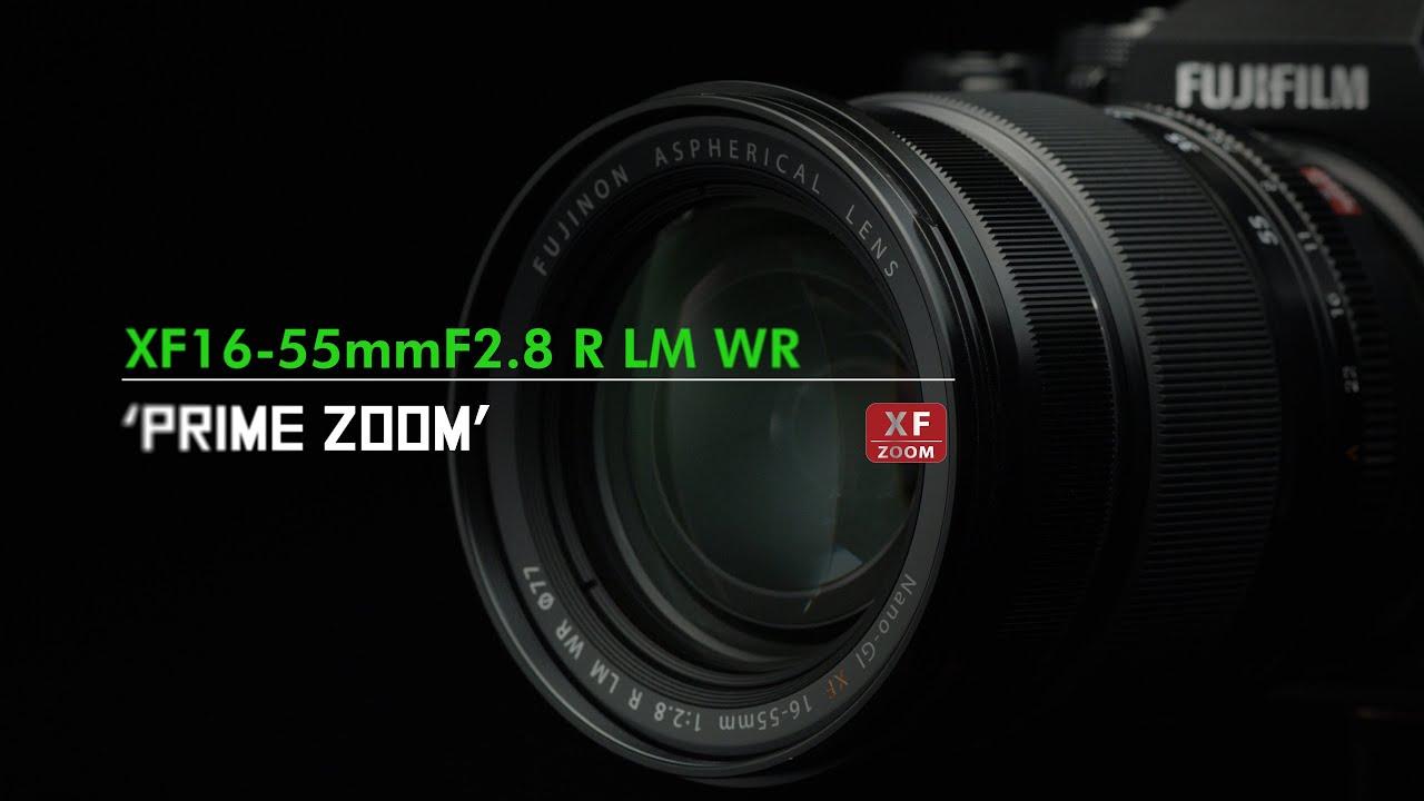 FUJINON XF16-55mmF2.8 R LM WR Promotional video / FUJIFILM