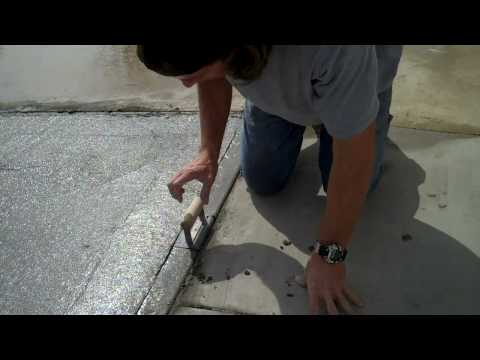 Pouring and Finishing a Concrete Slab
