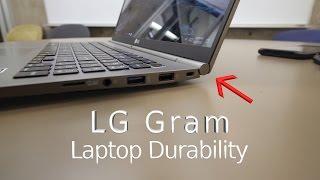 LG Gram 15 - Laptop Durability Test! - Will It Survive?