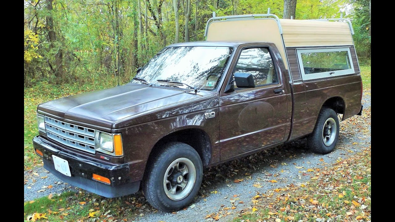 1989 chevy s10 5 speed 2 5l 4 cylinder start up review and tour youtube. Black Bedroom Furniture Sets. Home Design Ideas