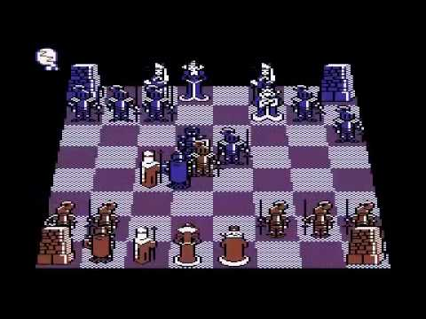 C=64 Battle Chess: The Cult Chess Program for the Commodore 64! | Longtime Demo