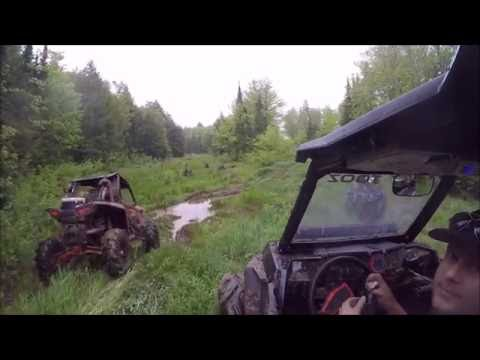 RZR 1000 on 32.5s and TURBO XP on 34's in thick mud hole