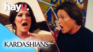 Bruce Enraged Over Khloé's Secret Engagement | Keeping Up With The Kardashians