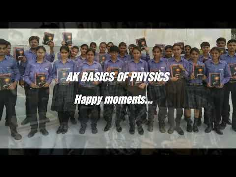 AK BASICS Of PHYSICS: Best Haryana Board Physics Book