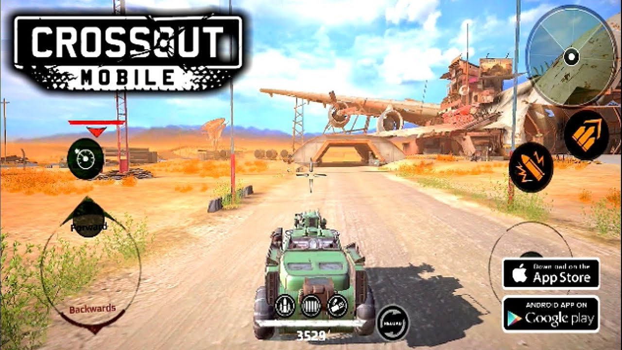 CROSSOUT MOBILE - PVP ONLINE Gameplay (Android) HD