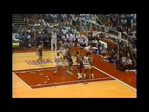 1994 Playoffs Jazz@Rockets Game 1 Highlights