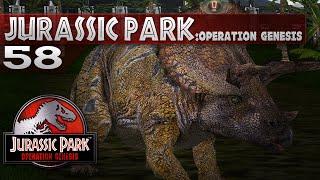 Jurassic Park: Operation Genesis - Episode 58 - Triceratops Rampage